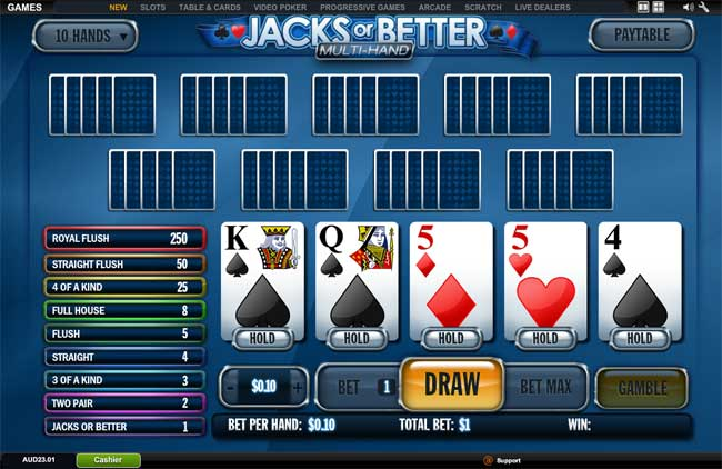 poker for fun online