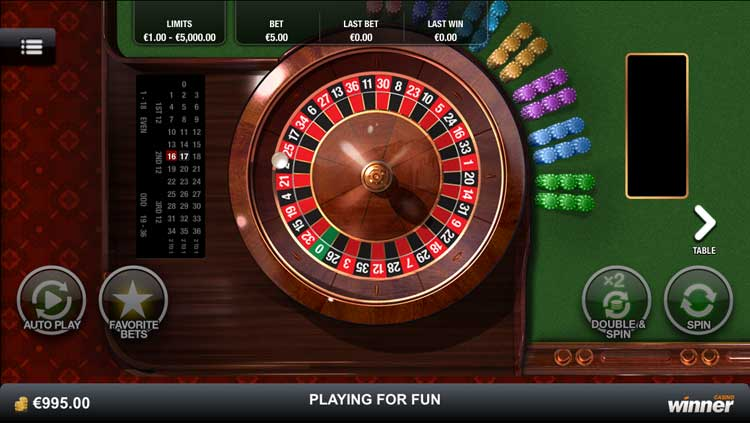 Play Premium European Roulette Online at Casino.com South Africa
